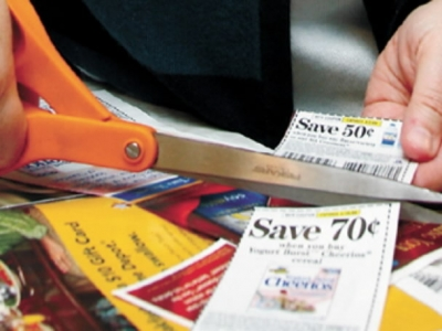 coupon-cutting